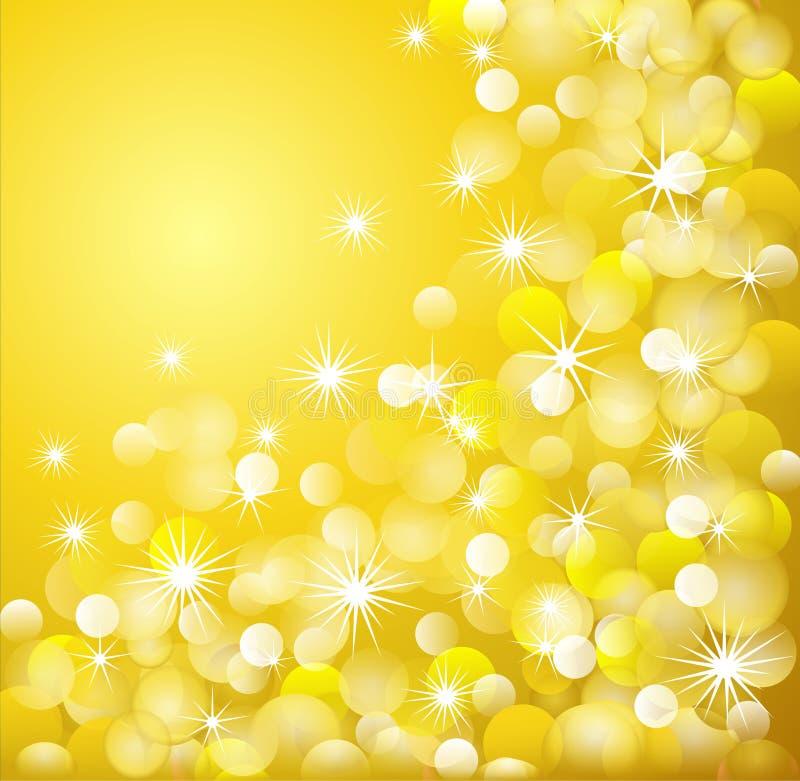 Golden light background royalty free stock photo