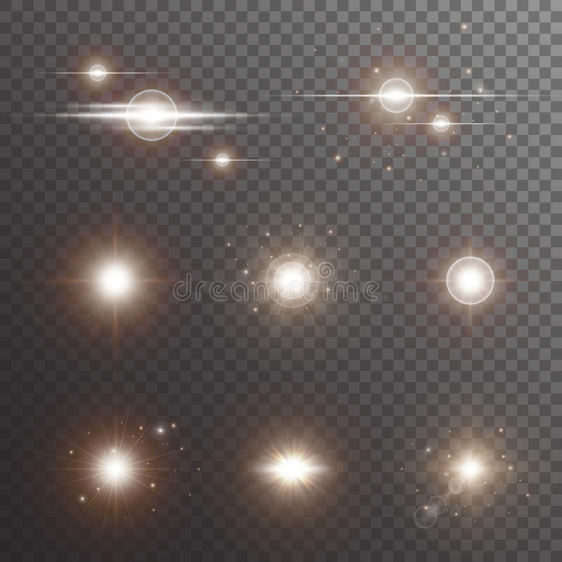 Golden light stock image
