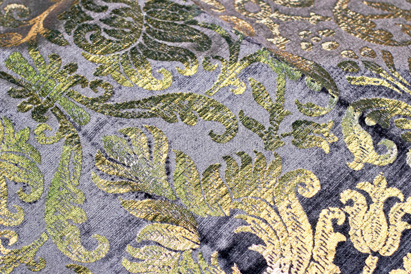 Download Golden linen stock photo. Image of textile, texture, curtains - 6504356