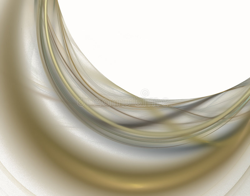 Golden lines. royalty free stock photography