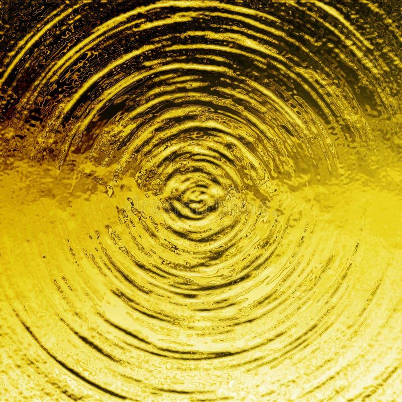 Golden liquid stock image
