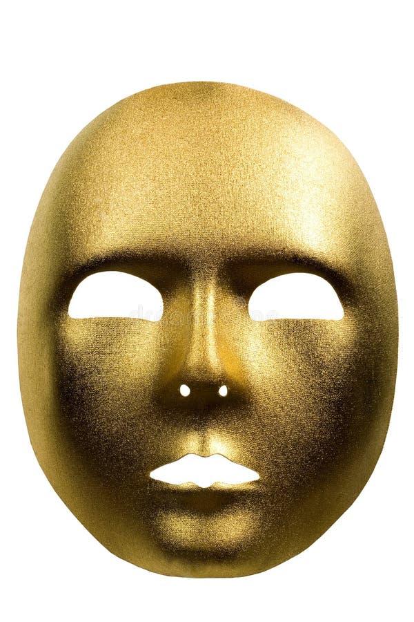 Golden mask royalty free stock photos