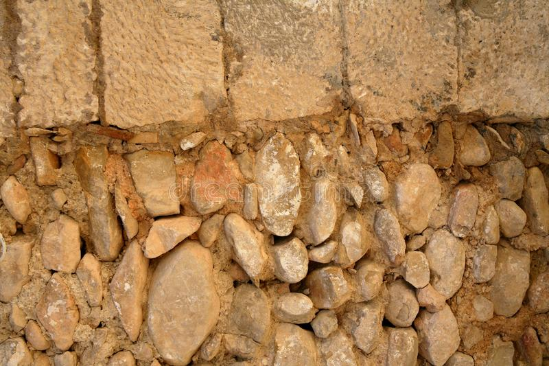 Download Golden Masonry Stone Wall From Old Building Stock Image - Image: 13371859