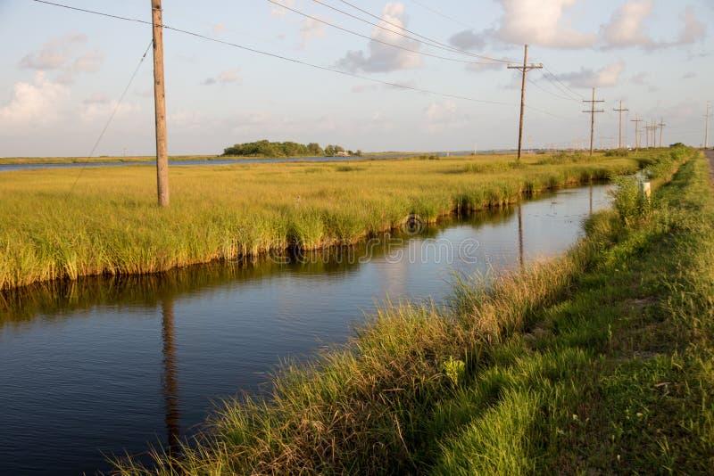 Golden Meadow, Louisiana stock photography