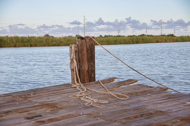 Golden Meadow, Louisiana stock image