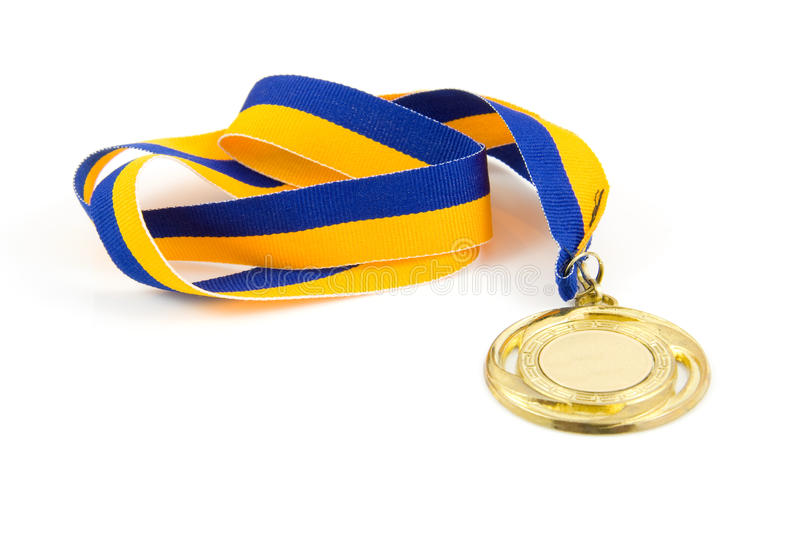 Download Golden medal stock image. Image of sports, place, isolated - 10827119