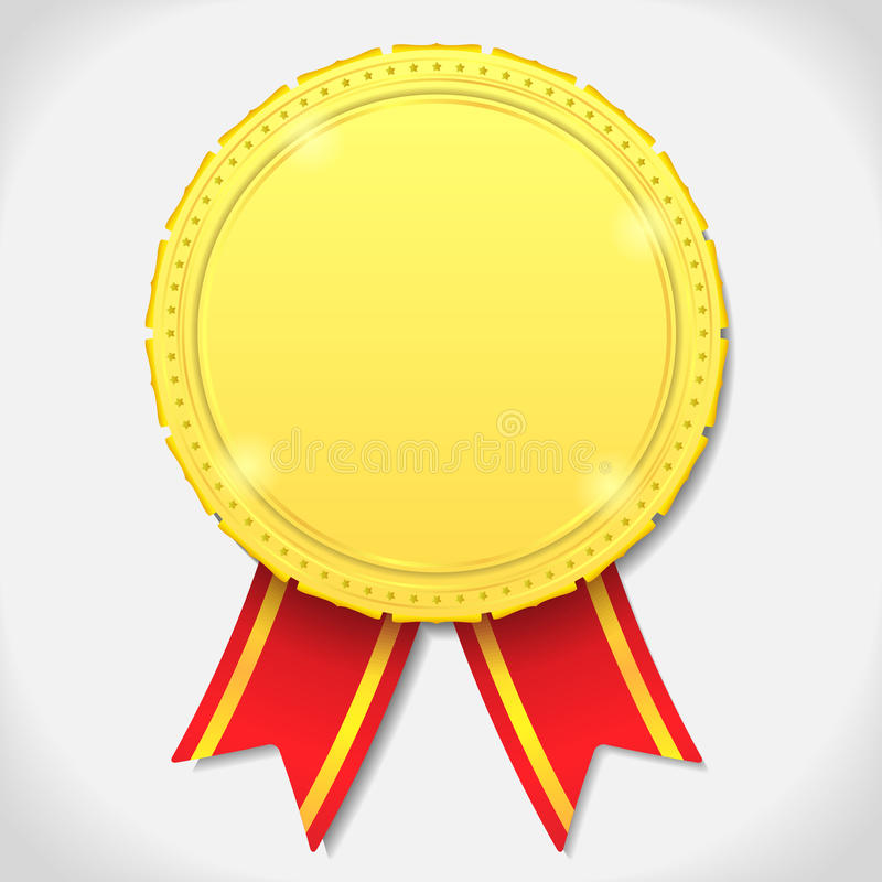 Download Golden Medal Royalty Free Stock Images - Image: 24824149