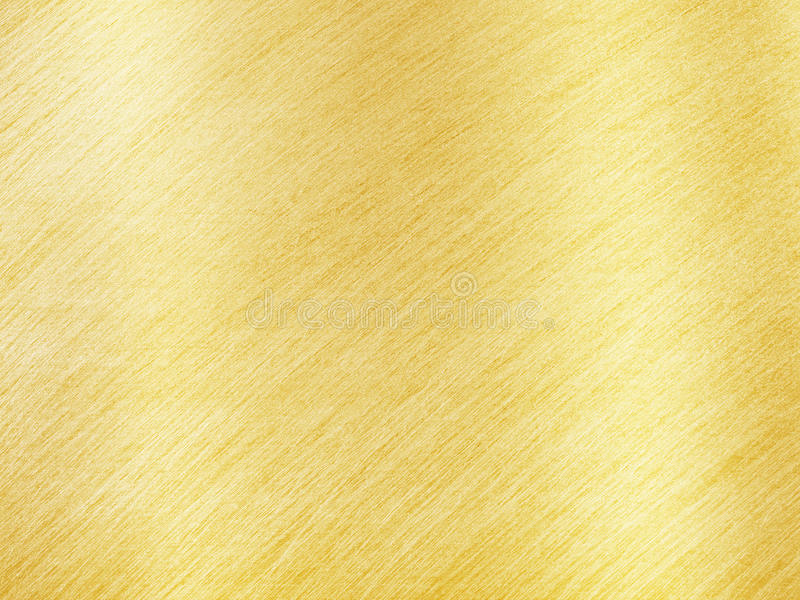 Golden Metal Texture with Reflection Stripes. As Background royalty free stock photos