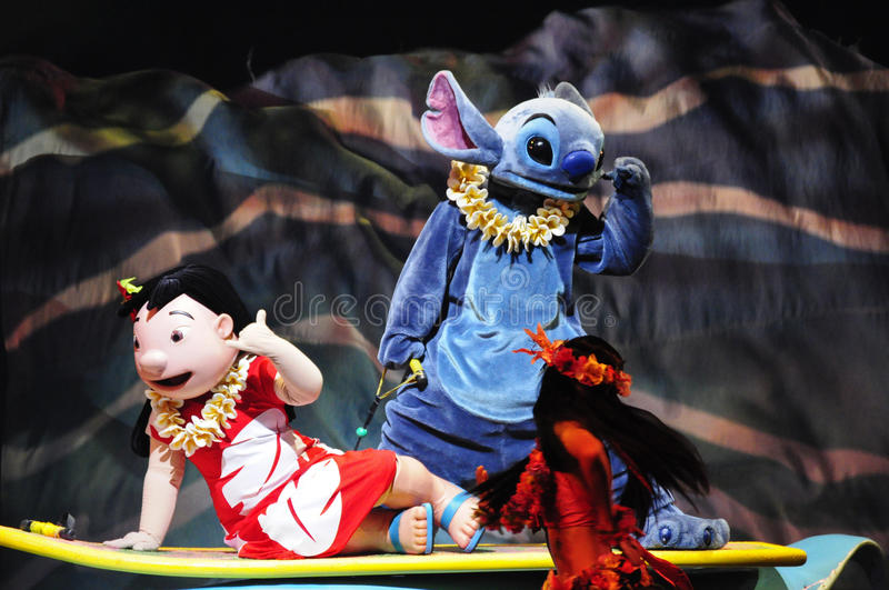 Download The Golden Micky Show - Lilo & Stitch Editorial Stock Image - Image: 18439664