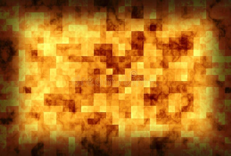 Download Golden mosaics stock illustration. Illustration of bathroom - 14380760