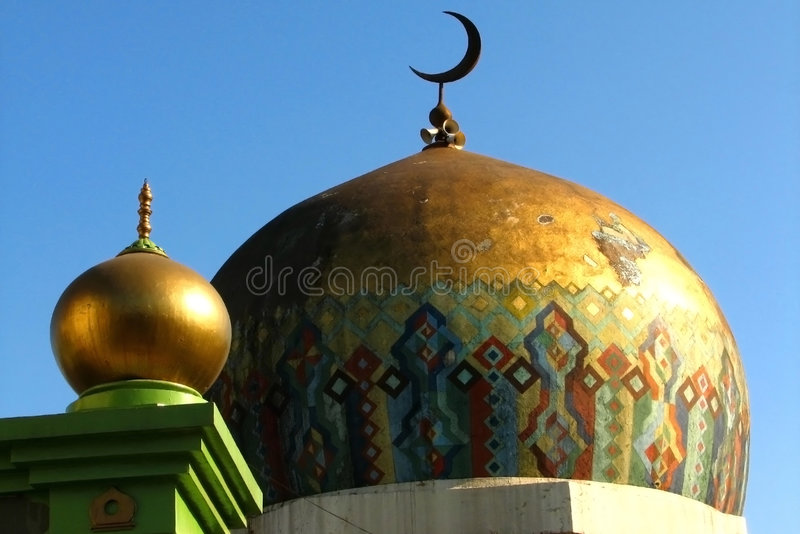 Download Golden Mosque stock photo. Image of asia, architecture - 7543374