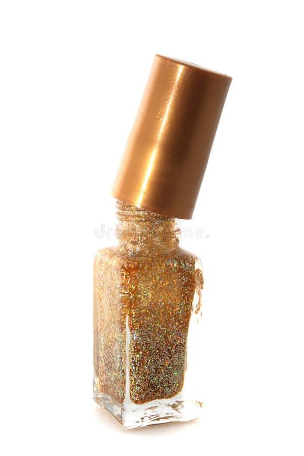 Download Golden nail polisher stock image. Image of shot, drop - 12548959