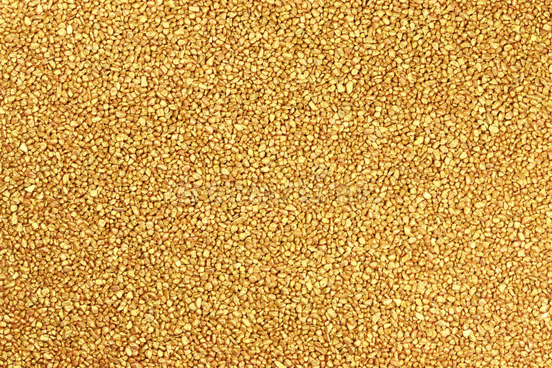Golden nuggets. royalty free stock photo
