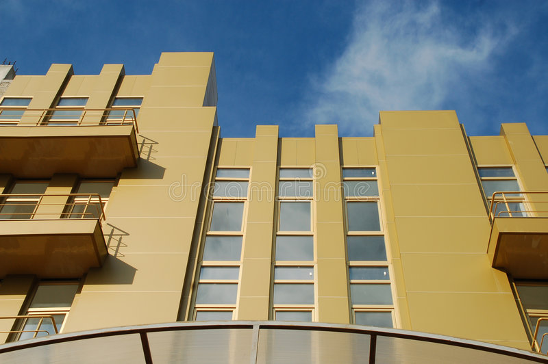 Download Golden office building stock photo. Image of abstract - 7253964