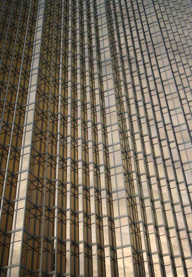 Download Golden Office Building Windows Background Stock Image - Image: 1632651