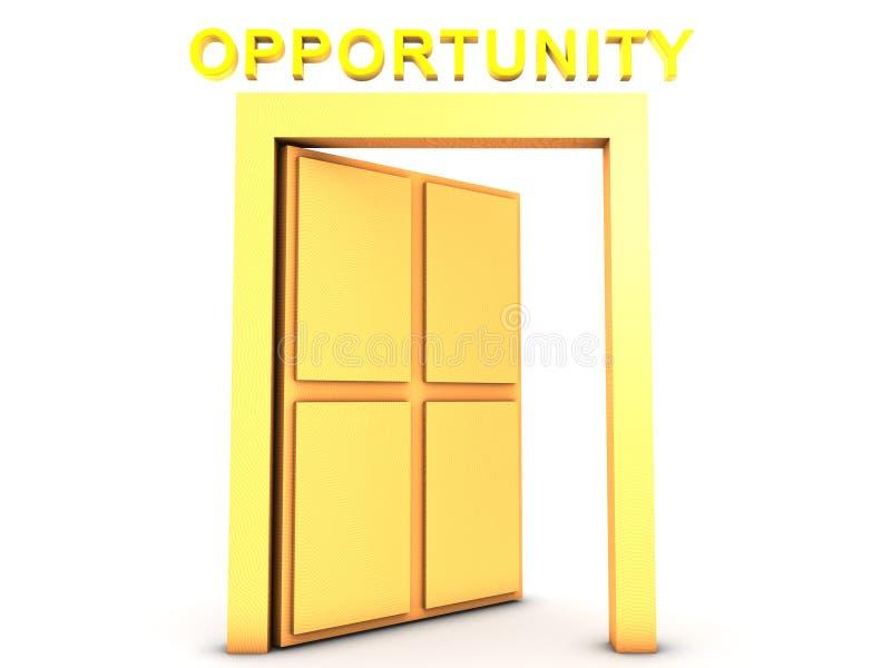 Download Golden Opportunity stock illustration. Illustration of welcome - 42208413