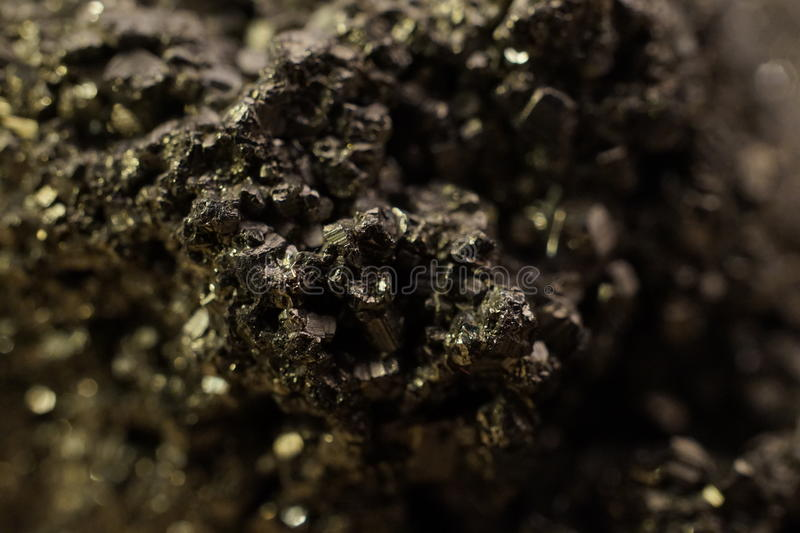 Golden Ore stock photography