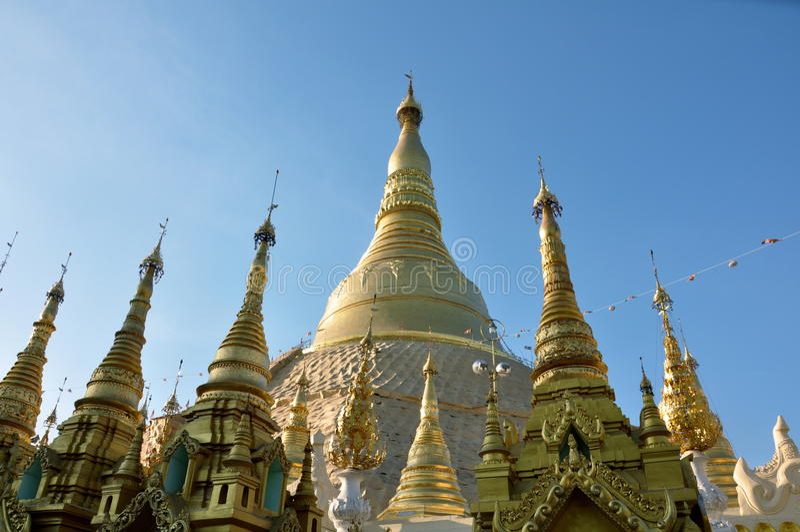 Golden Pagoda stock photography