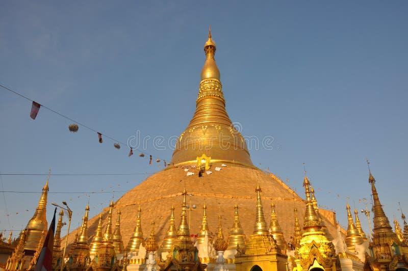 Golden Pagoda stock photo