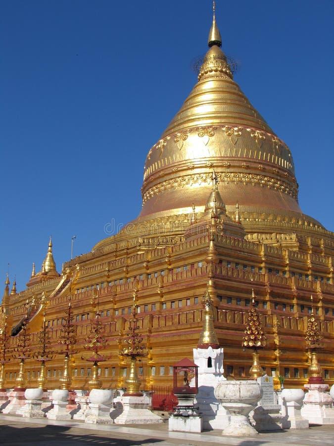 Download Golden Pagoda stock image. Image of rangoon, giant, bright - 2641461