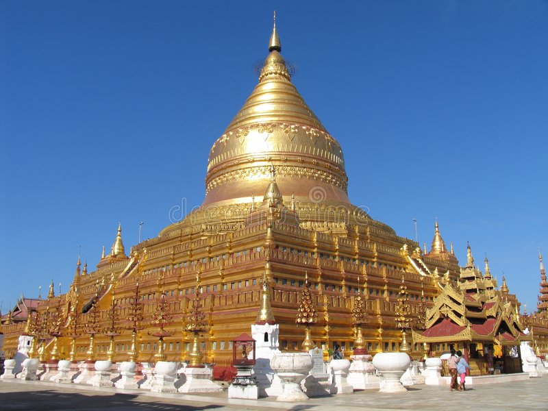 Download Golden Pagoda stock image. Image of heritage, building - 2641523
