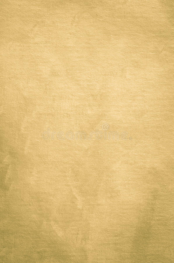 Golden painted background texture with pearly shimmer. Golden painted artistic canvas background texture with pearly shimmer royalty free stock images