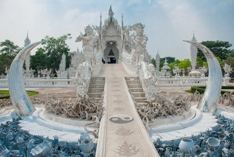 The Golden Palace. Toilet. Chiang Rai, Thailand. royalty free stock image