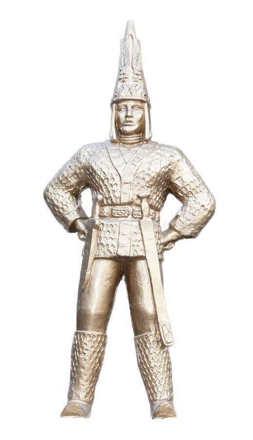 Golden Person. Kazakhstan Stock Image