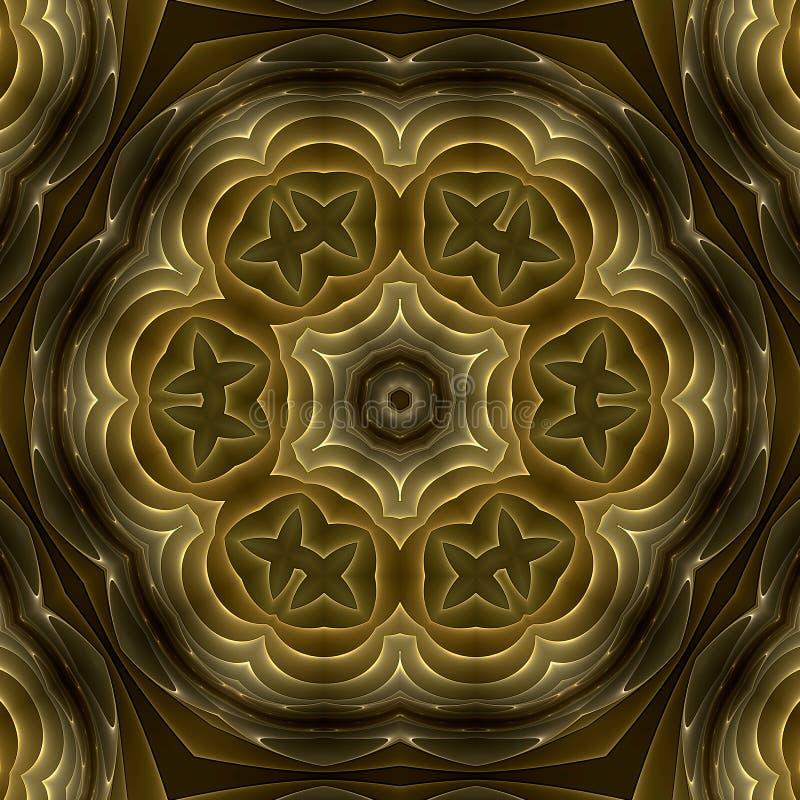 Free Golden Petals Mandala Stock Photo - 4890920