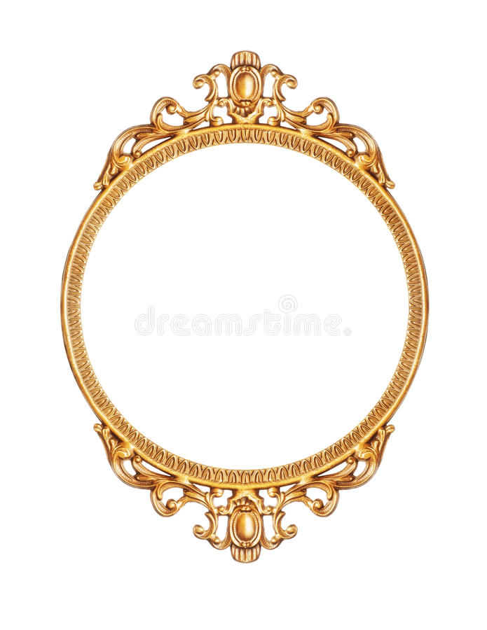 Download Golden picture frame stock image. Image of home, gold - 21963487