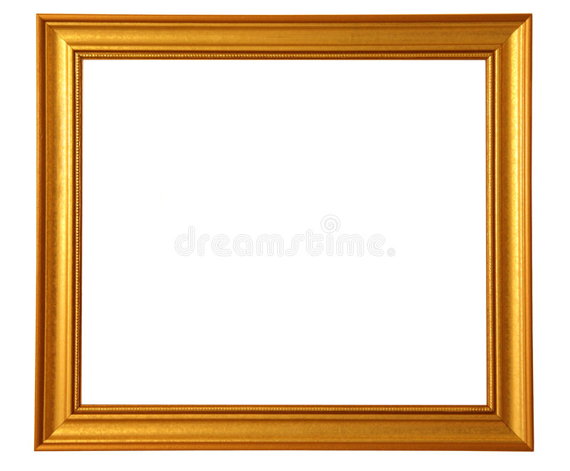 Download Golden Picture Frame Stock Image - Image: 2280291
