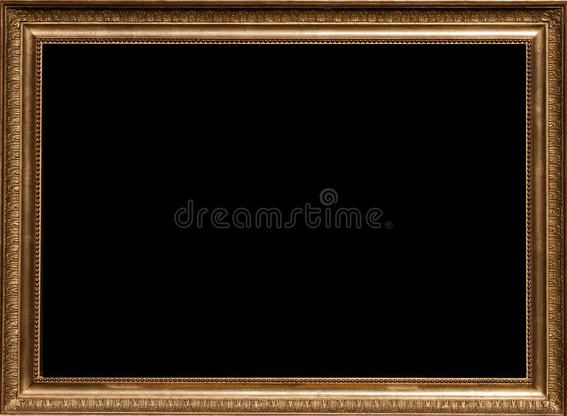 Golden Picture Frame royalty free stock images