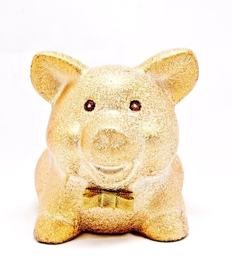 Download A Golden Piggy Bank Stock Photos - Image: 20807723