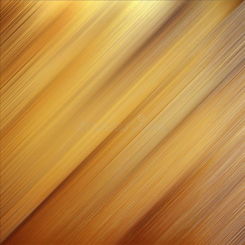 Golden plate stock image