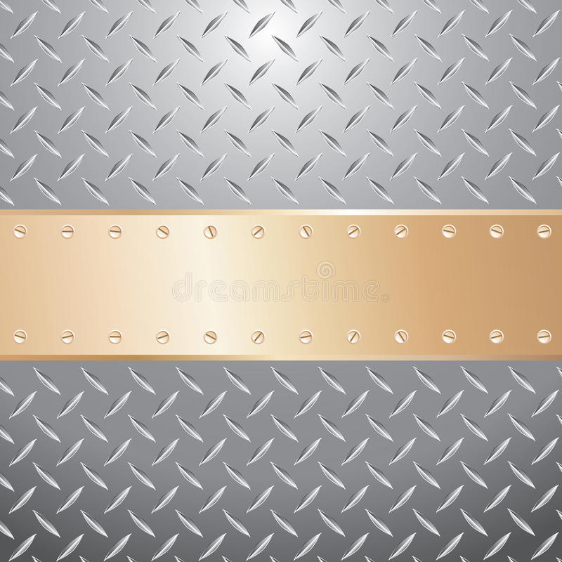 Download Golden plate screws stock vector. Illustration of industrial - 16175588