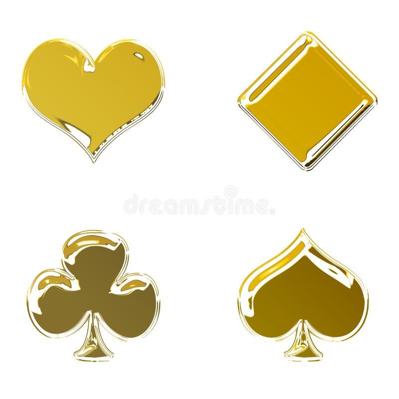 Golden Poker Stock Illustrations 4 240 Golden Poker Stock Illustrations Vectors Clipart Dreamstime