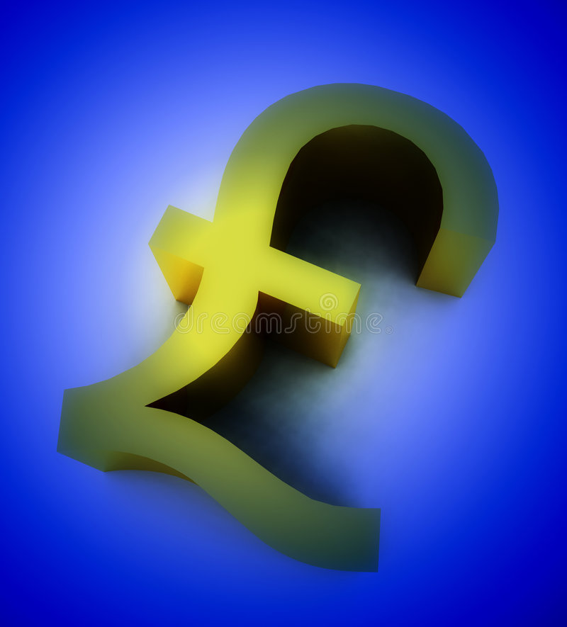 Download The Golden Pound 6 stock illustration. Image of bank, money - 4711471