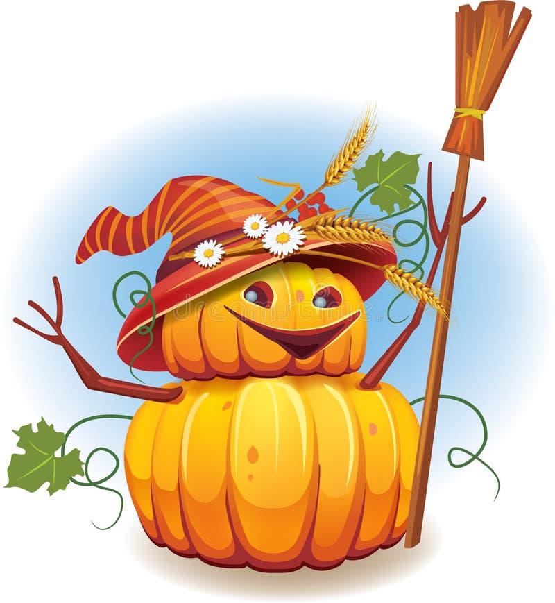 Golden Pumpkin Harvest Royalty Free Stock Images