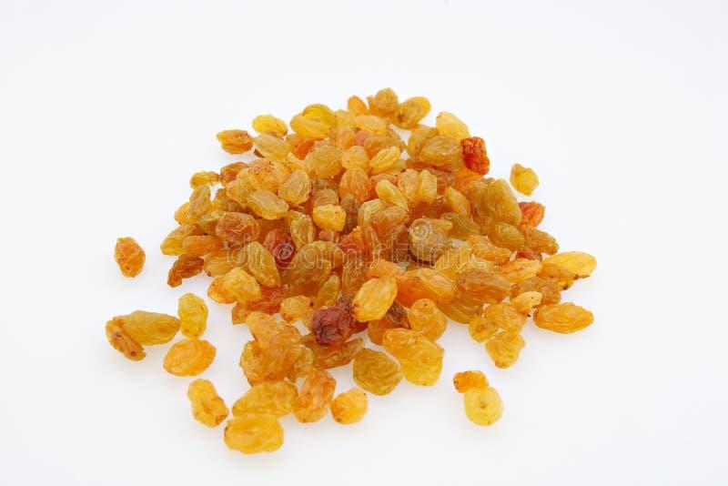 Golden raisins royalty free stock images