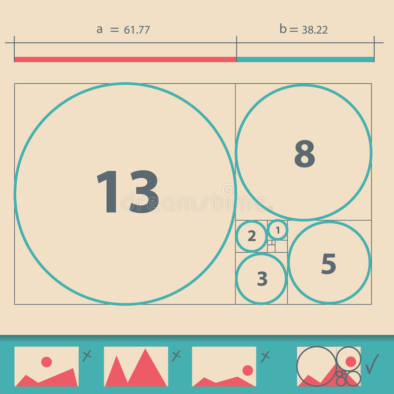 image of golden ratio circle vector free golden ratio template