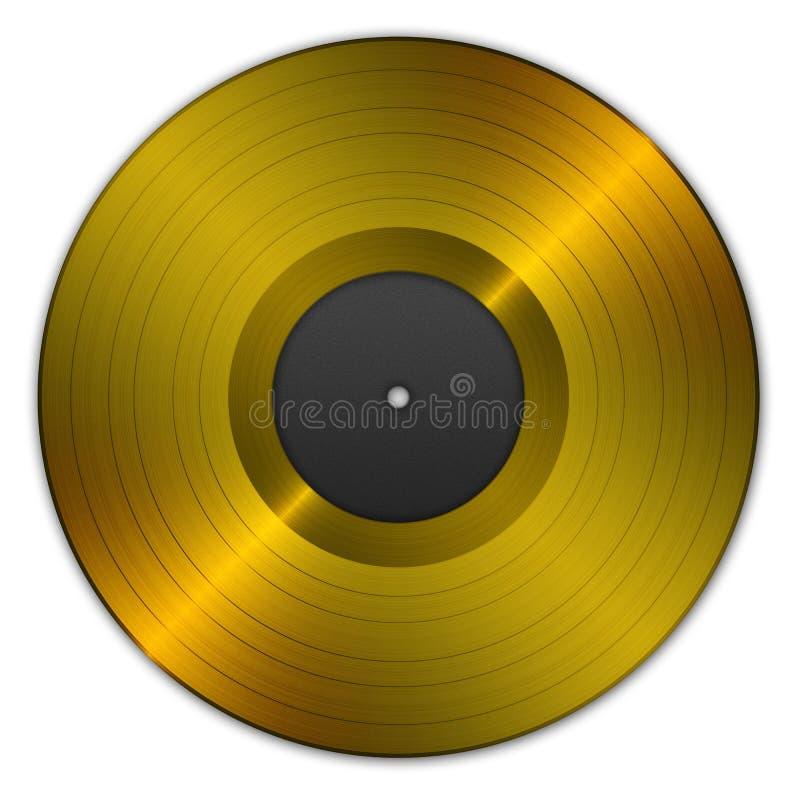 Download Golden record stock illustration. Image of vintage, illustration - 22675532