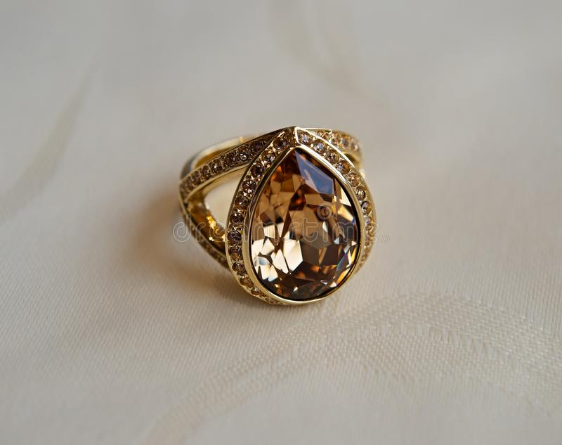 Golden Ring royalty free stock image