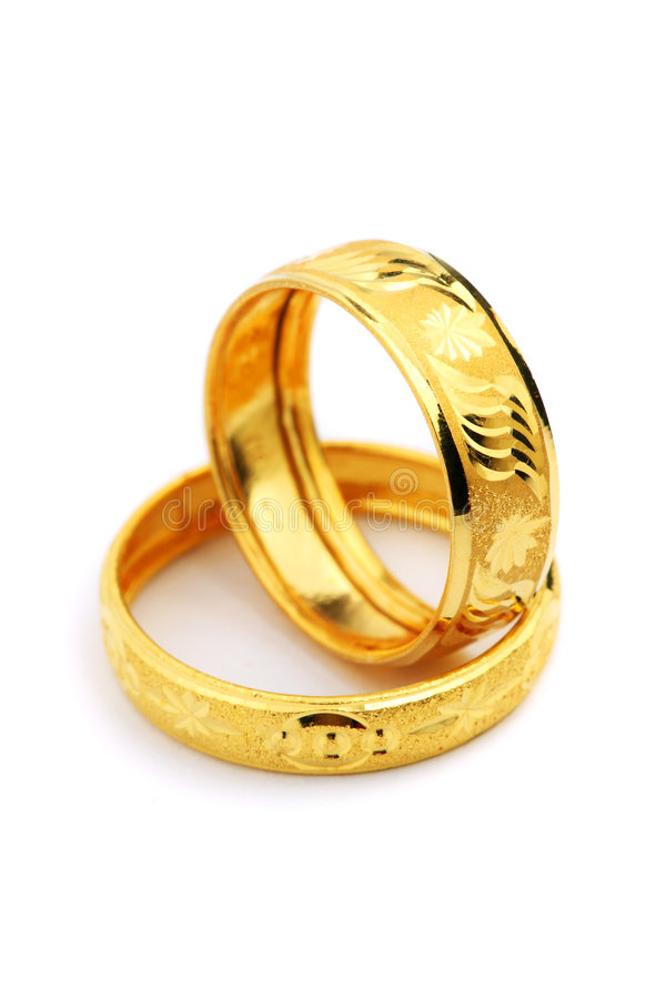 Golden Ring stock photo. Image of design, isolated, jewellery ...