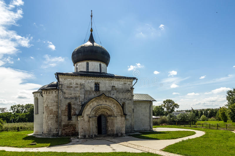 Golden Ring. A cathedral of St. George in Yuryev-Polsky stock photography