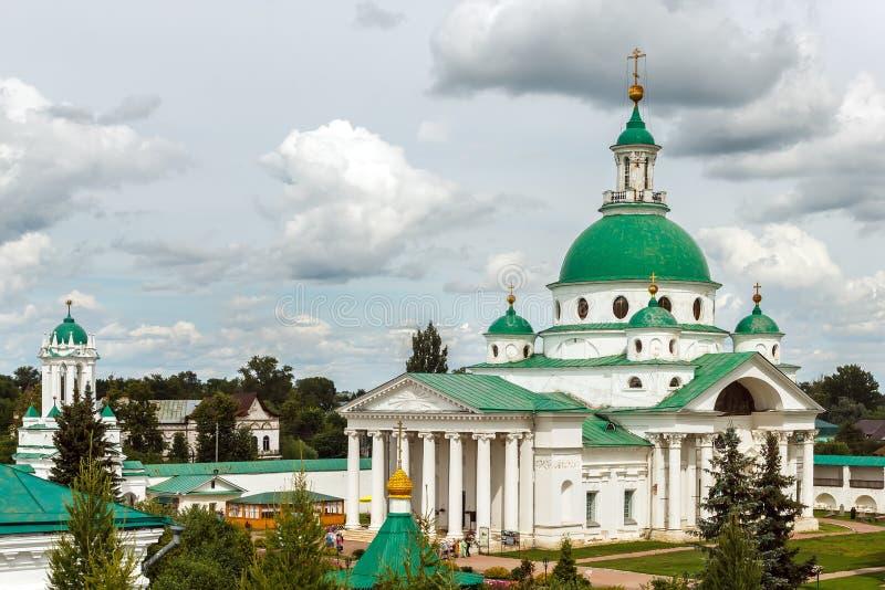 Golden Ring. Spaso-Yakovlevsky monastery in Rostov Veliky royalty free stock images