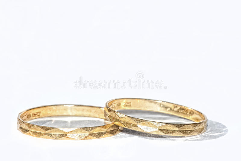 Download Golden Rings stock image. Image of pair, love, gold, romance - 26734831