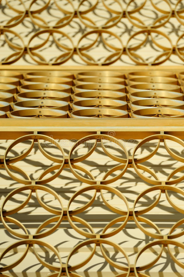 Golden Rings Abstract Stock Images