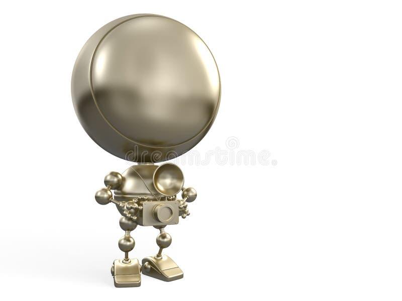 Golden Robot photographer
