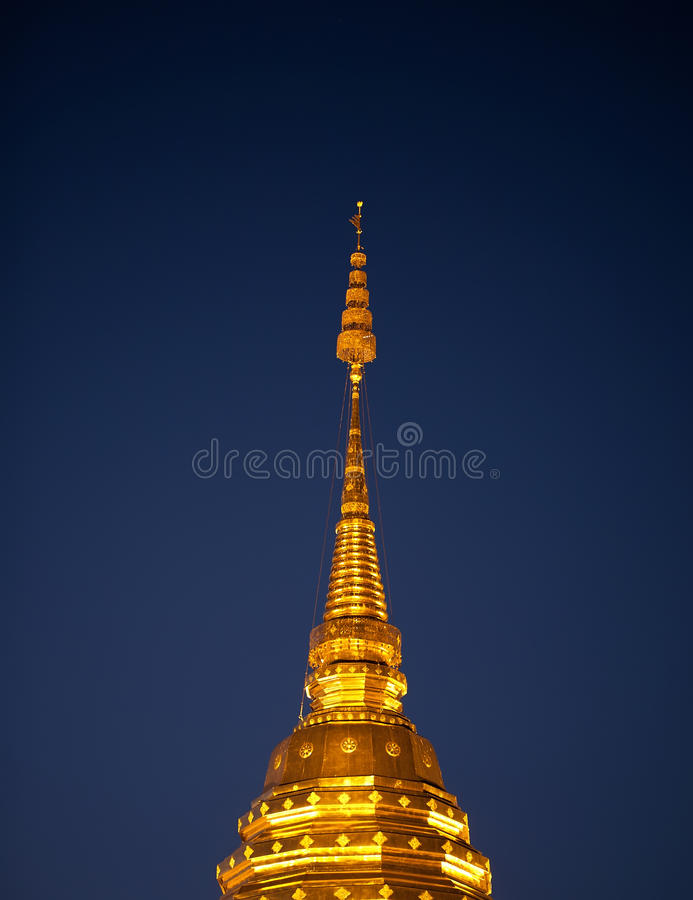 Download Golden roof stock photo. Image of southeast, stupa, temple - 23446156
