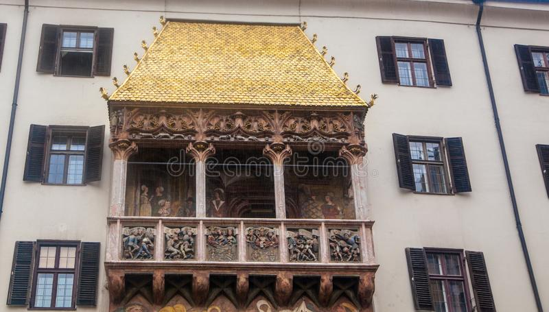 Golden Roof royalty free stock image